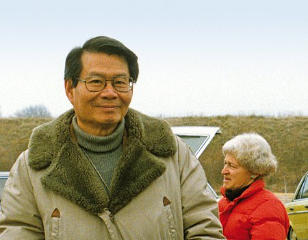Edward Chao, co-discoverer of the Ries Impact Crater