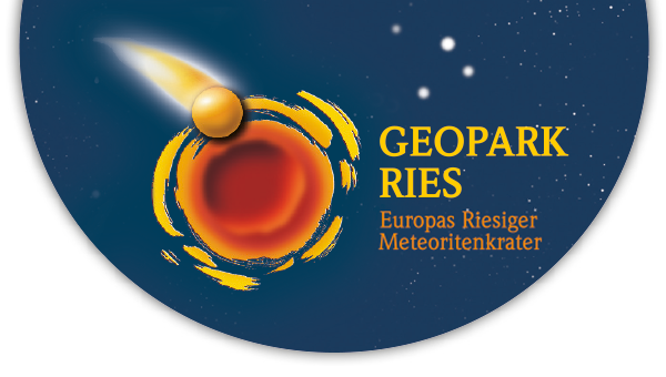 Logo Infomaterial - Geopark Ries